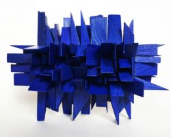 70 Carmel Wallace Blue Wedge Forest