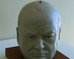 88-Saeed-Shojaee-Churchill-Portrait-or-Piggy-Bank