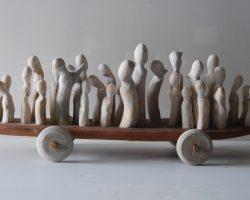 65-Ralph-Tikerpae-Gaia-IV-Carved-Wood