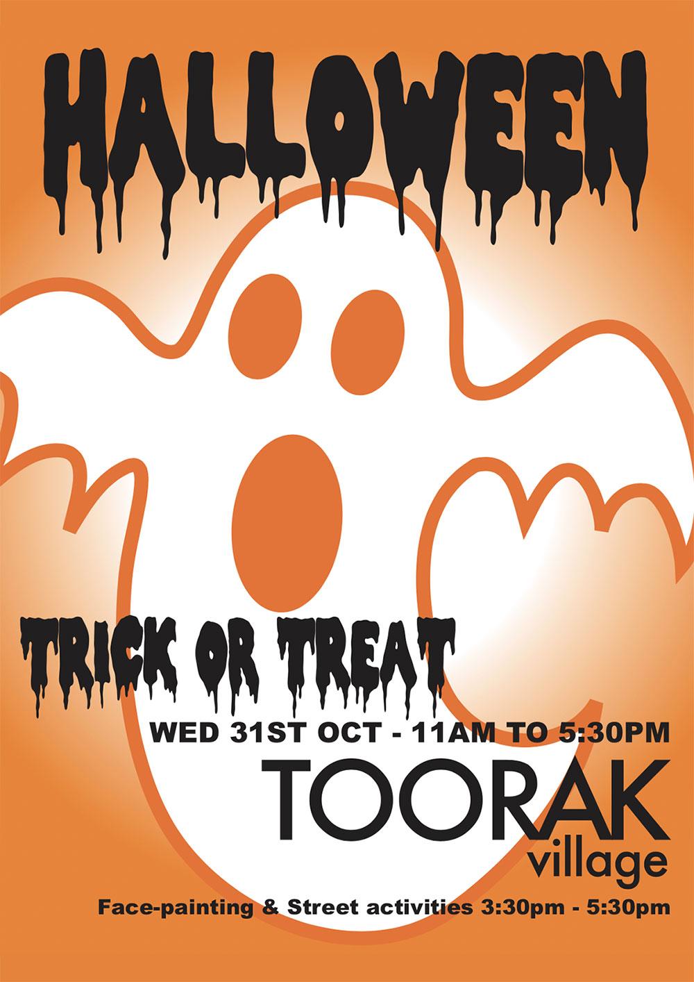Halloween in Toorak Village