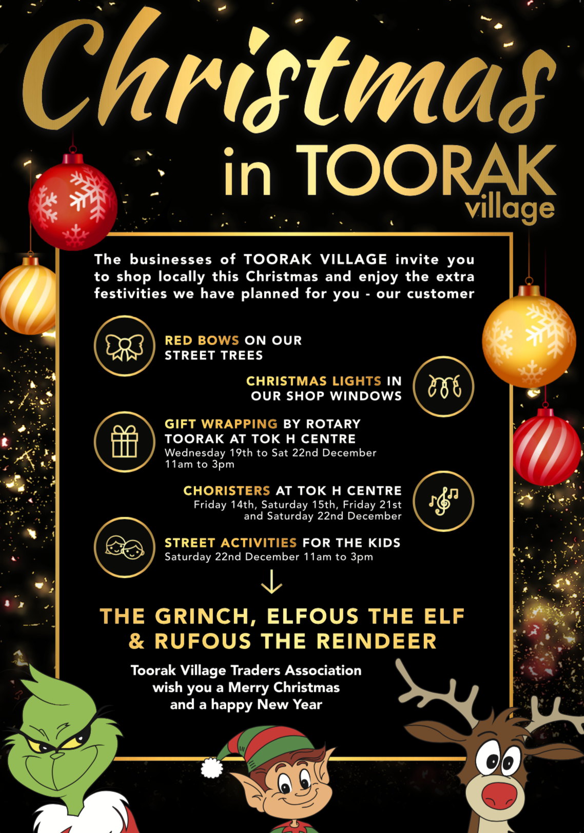 CHRISTMAS IN TOORAK VILLAGE